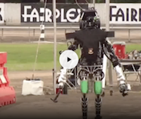 DARPA robots falling down video thumbnail