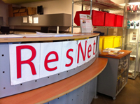 Picture of Northeastern's Resnet storefront